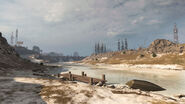 Riverside FrozenRiver Verdansk Warzone MW
