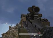 M240 ACOG Scope MW2