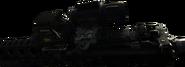 M4A1 Hybrid Sight Side View MW3