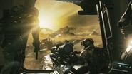 Call of Duty Infinite Warfare Горящая вода 5