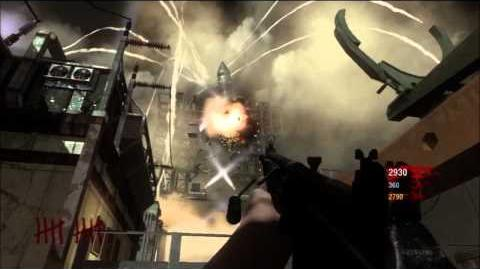 Call of Duty Black Ops - Ascension - Destroying the Rocket