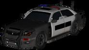 LAPD Squad Car model BOII