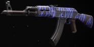 AK-47 Blue Tiger Gunsmith BOCW