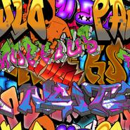 Graffiti Camouflage texture BOII