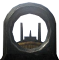 Lee-Enfield Iron Sights close-up CoD2