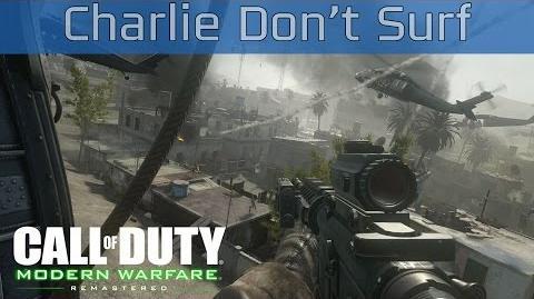 Call of Duty 4 Modern Warfare Remastered - Charlie Don't Surf Walkthrough HD 1080P 60FPS