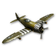 Fighter Pilot Icon WWII