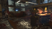 Sentry shooting zombies BO4
