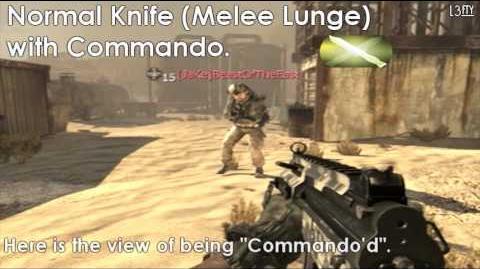 Call_of_Duty®_Modern_Warfare_2_-_Commando_Pro_Perk_(Normal_Knife_Tactical_Knife_Riot_Shield)