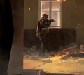 GIGN soldier holding the FAMAS MW3