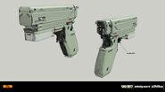 VR pistol concept IW