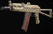AK-74u Growl Gunsmith BOCW