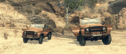 Two UAZ 469 Old Wounds BOII