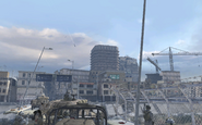 Building before being destroyed Team Player MW2