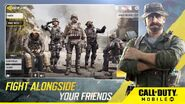 COD Mobile Fight Alongside your Frieds