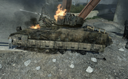 Destroyed Bradley Interchange MW3