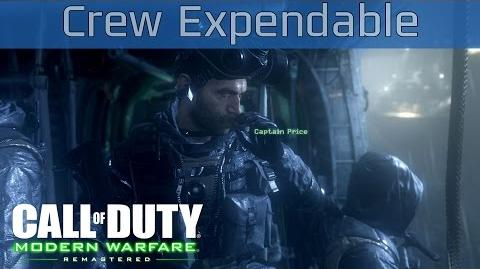Call of Duty 4 Modern Warfare Remastered - Crew Expendable Walkthrough HD 1080P 60FPS