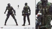 Black Ops 4 Spectre Concept Art