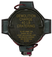 Cratering Charge top BOII