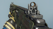 Peacekeeper MK2 First Person Chameleon Camouflage BO3