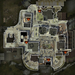 Headquarters Map Fallen MW3