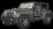 Jeep Wrangler White model MW3