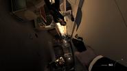 Plane in zero gravity Turbulence MW3