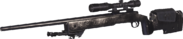 M40A3 Nickel Plated MWR
