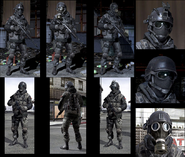 Russian Commando models MW3