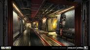 SDF Ship Corridor by Eric Spray IW