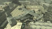 V-22 Osprey flying over Bootleg MW3