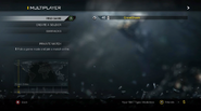Multiplayer menu CODG
