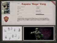 Naga Operator Bio BOCW