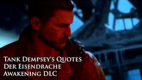 "Der Eisendrache - Tank Dempsey's quotes sound files (Black Ops III ""Awakening"" DLC)"