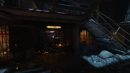 Most Escape Alive krok 3 mewa korytarz na bloki C i D