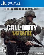 Call of Duty World War II PS4 Box Art
