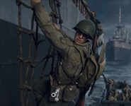 Drew Stiles in D-Day WWII
