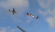 Уничтожение самолёта разведчика ww2