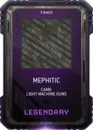 Mephitic Camo Supply Drop Card MWR