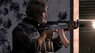 OpFor soldier aiming AK74u CoD4