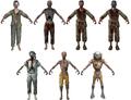 Shangri-La zombie character models BO
