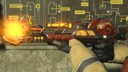 Raygun Mark II-Y charging third-person AlphaOmega BO4