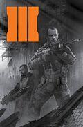 Comic Prequel Cover Second Print BO3