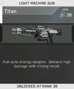 Titan Unlock Card IW