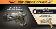 Divinity Pistol - Black Ops 4