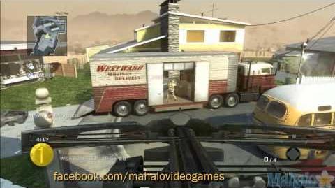 Call of Duty Black Ops - Multiplayer - Gun Game - Mitts - Nuketown - Stabby Stabby