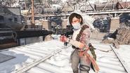 """Samantha Maxis """"Death's Birde"""" skin in-game third-person BOCW"""