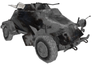 Sd. Kgz. 222 destroyed winter model CoD2