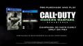 Call of Duty Modern Warfare Remastered Promo