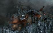 Cargo Plane Crash Site BO